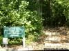 Champ County Park trail entrance
