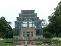 The Jewel Box in Forest Park St. Louis