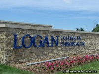 Logan College of Chiropractic Entrance Sign