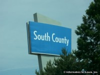 South County Center sign