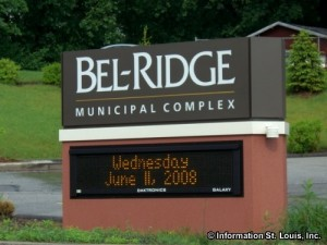Bel-Ridge Missouri Municipal Complex Sign