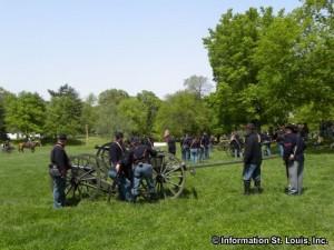 Camp Jack Affair Civil War Reenactment in St Louis