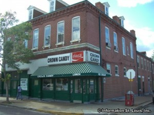 Crown Candy Kitchen in North St Louis