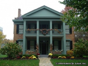 Historic Hanley House in Clayton Missouri