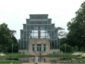 The Jewel Box in Forest Park St Louis Mo