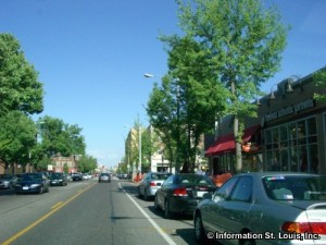 The Delmar Loop Shopping District