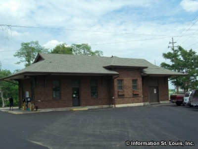 Alton Illinois Amtrak Station