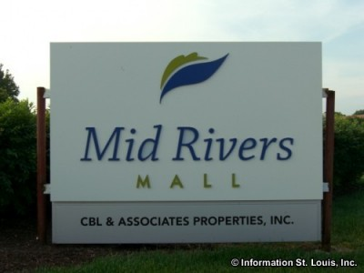 Mid Rivers Mall sign
