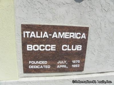 Italia-America Bocce Club