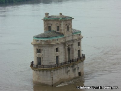 Water Intake Towers on the Mississippi River