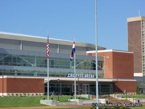 Chaifetz Arena on the St Louis University campus