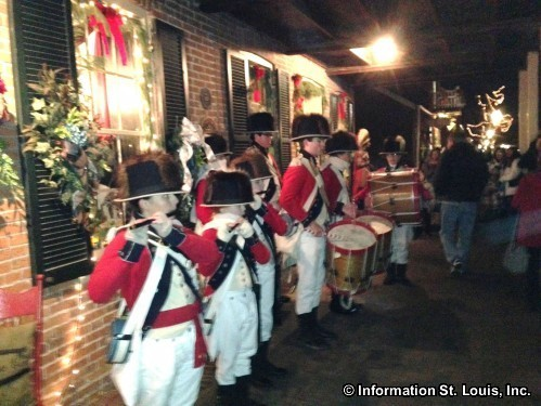 Christmas Traditions Festival in Old Historic St Charles