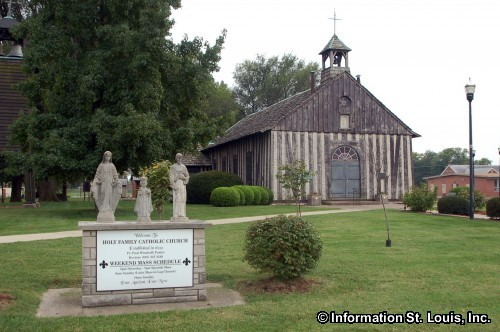 Historic Holy Family Log Church