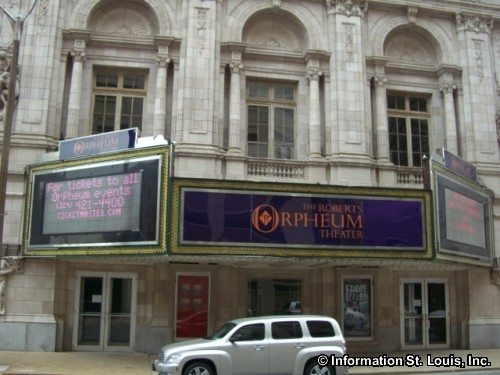 "Roberts Orpheum Theatre, NR, City Landmark, opened as an ""Orpheum"" in 1917"