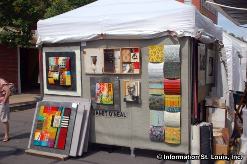 St Louis Art Fair in Clayton Missouri