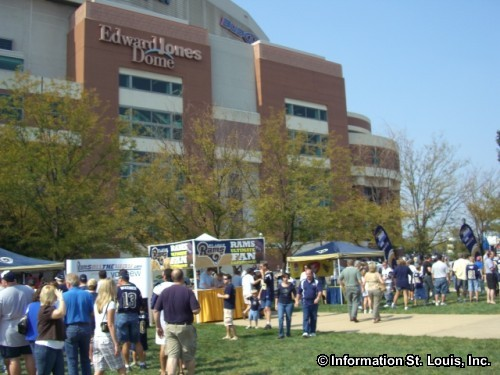 Tailgate Party at the Edward Jones Dome