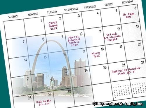 St Louis Calendar