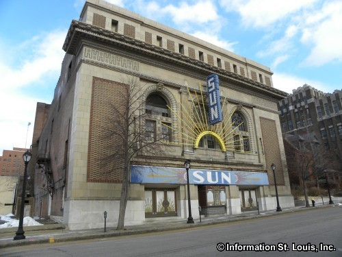 The Historic Sun Theater in Grand Center