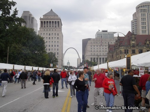 Taste of St Louis in Downtown St Louis